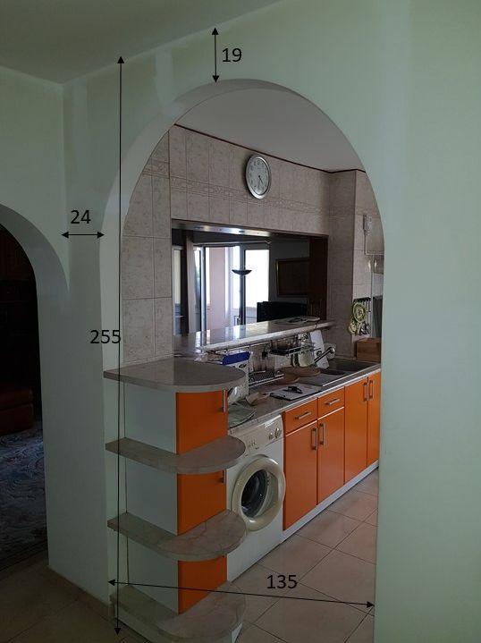 Amenajare/refacere bucatarie apartament