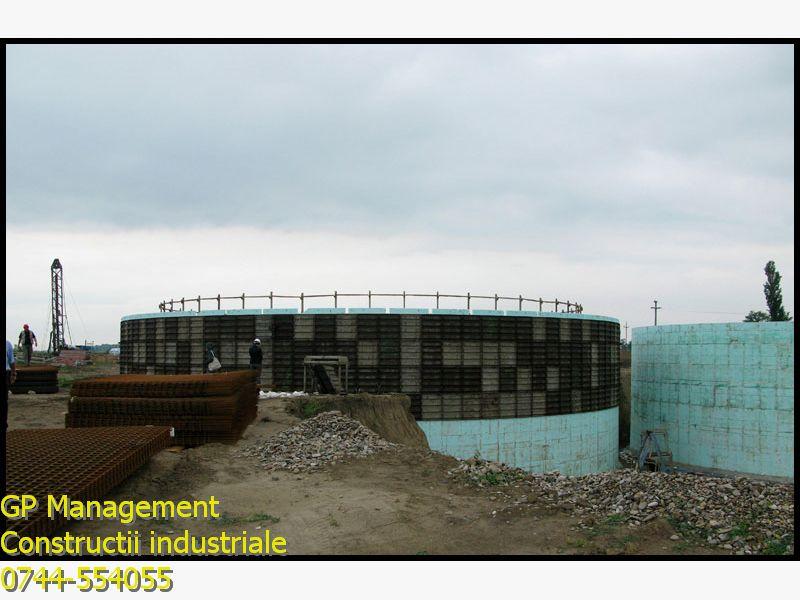 Statie de productie biogaz