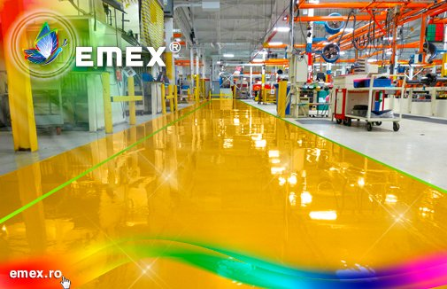 Vopsea poliuretanica pentru pardoseli Emex